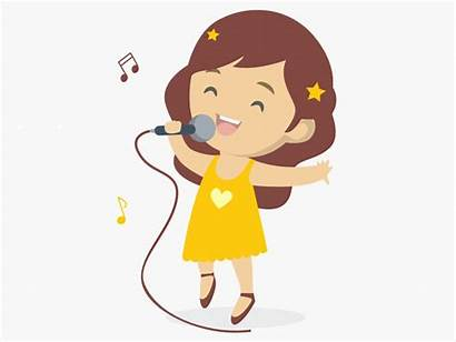 Singing Karaoke Singer Children Soon Dribbble Dance