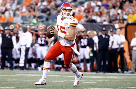 Comparing Patrick Mahomes To The Nfl's Rookie Quarterback