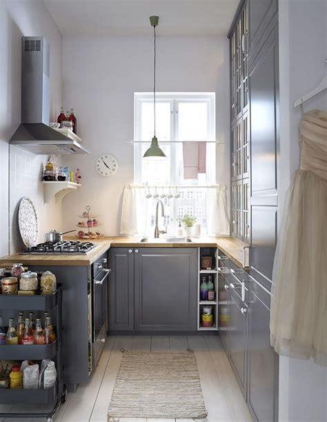 cuisine ikea petit espace les 25 meilleures idées concernant petites cuisines sur