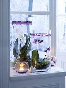 Minigarten Im Glas : winterliche fensterdeko sch ne ideen zum selbermachen deko fensterdeko dekoration und deko ~ Eleganceandgraceweddings.com Haus und Dekorationen
