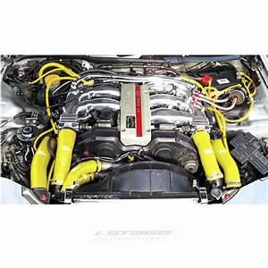 Vw Golf Mk4 1 8t Yellow Engine Bay Silicone Hose Car