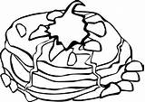 Coloring Pages Habits Breakfast Clipart Clipartmag sketch template
