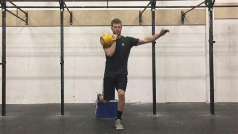 squat split kettlebell bulgarian rack arm