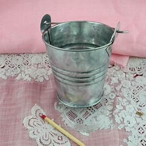 Seau En Metal : petit seau d coration miniature zinc 7 cm petit seau en ~ Teatrodelosmanantiales.com Idées de Décoration