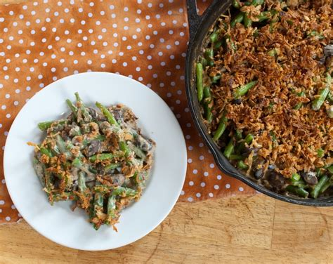 healthy green bean casserole baked