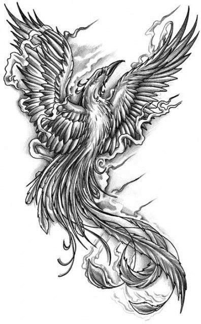 tattoo designs phoenix 01 | Tattoo | Phoenix bird tattoos, Phoenix tattoo design, Tattoo stencils