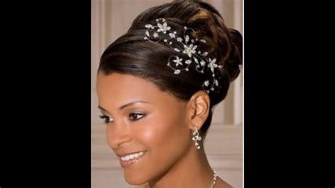 wedding hairstyles  nigerian brides  black