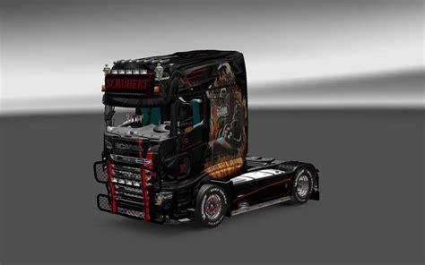 schubert skin   scania ets  euro truck simulator