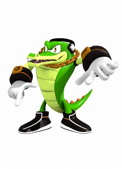 Crocodile Vector Deviantart Sonic Heroes Hedgehog Rawr