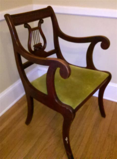 Lyre Back Chairs Ebay by Vintage Duncan Phyfe Lyre Harp Back Mahogany Dining Room