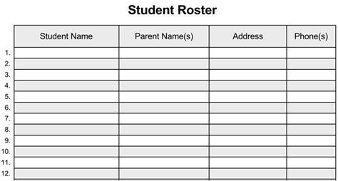 class list template class list template for work doc excel list templates