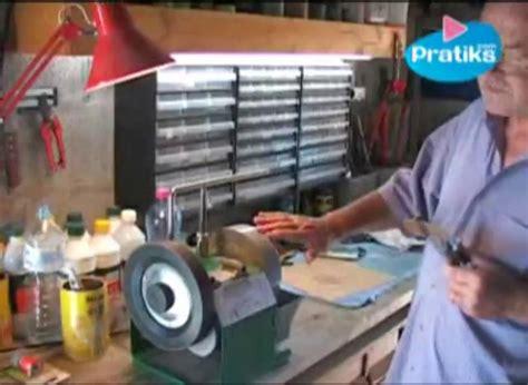 comment aiguiser un couteau de cuisine comment aiguiser un couteau avec une meule à eau pratiks