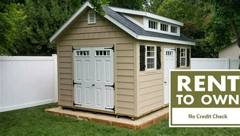Shed For Rent by Rent To Own Sheds In Dakota No Credit Check Needed