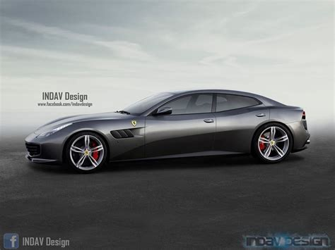 Does Ferrari's Gtc4lusso Need Two Extra Doors?