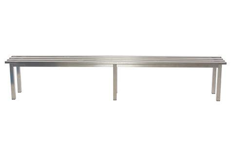 stainless steel mezzo changing room bench benchura