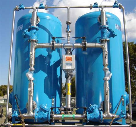 Automatic Duplex Industrial Water Softener ASDC-4884-4/1.5/SS
