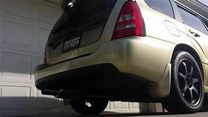 Subaru Forester Xt With Invidia G200 Catback Exhaust Rev