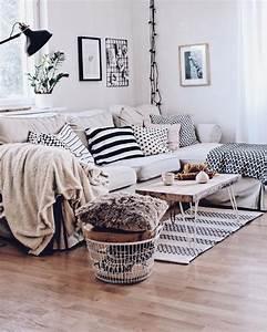 Graues Sofa Kombinieren : die besten 25 skandinavischer stil ideen auf pinterest ~ Michelbontemps.com Haus und Dekorationen