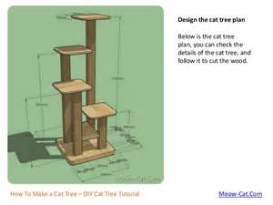 how to a cat how to make a cat tree with solid wood