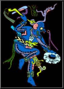 Mayan God Chac