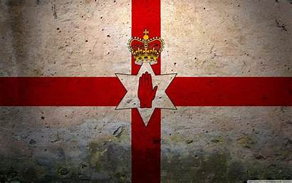 Ireland Northern Wallpapers Flag Desktop Grunge 4k