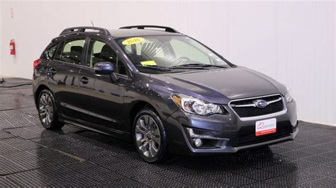 2016 Impreza Hatchback by Certified Pre Owned 2016 Subaru Impreza Wagon 2 0i Sport
