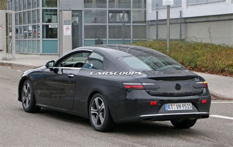 2017 Mercedes E-class Coupe Looks Predictably Elegant In