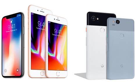 iphone pixel xl comparaison de lappareil