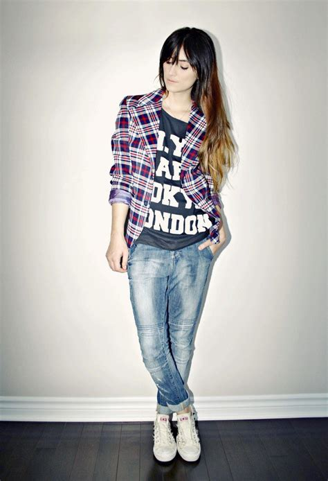 15 Chic Plaid Blazer Outfits for Fall 2014 - Pretty Designs