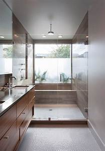 2013, Bath, Room, Winner, Features, A, Neat, Twist, On, The, Oversized, Shower, Wet, Room, Idea, Here, The