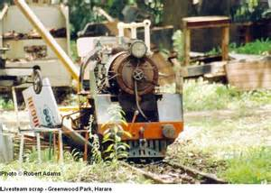 Scrapped Live steam - Greenwood Park - Harare - RA