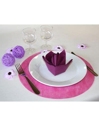 set de table fuschia d 233 co table