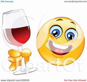 Royalty-Free (RF) Clipart Illustration of a Happy Emoticon ...