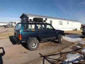 Find Used Tricked Out      1995jeep Cherokee With 327 Chevy Motor Only 4 300 Miles In Wright