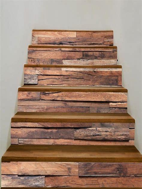 keramik tangga rumah minimalis model harga motif kayu