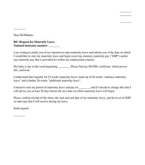 sample maternity leave letter employer how to write a letter your boss about maternity leave