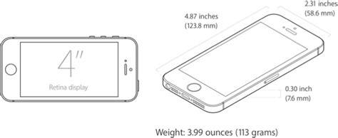 iphone 5s measurements iphone se everything we macrumors