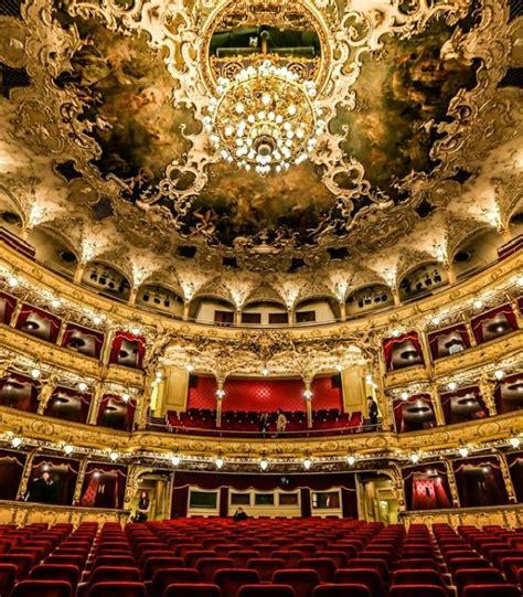 interior  prague state opera   german theatre