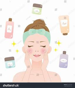 Skin Care Stock Vector Illustration 252463609 : Shutterstock
