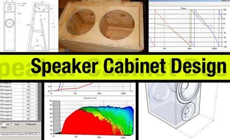 Speaker Cabinet Design Software Free speaker cabinet design styles and techniques audiogurus