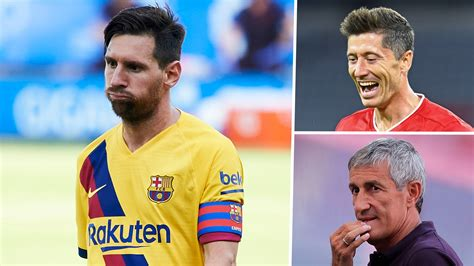 Robert lewandowski also gets the nod following a brace against borussia dortmund while radja nainggolan scored a goal and provided three assists to earn his place in the fifa 20 fut totw 9 starting xi. Messi and Barcelona at lowest ebb since Champions League ...