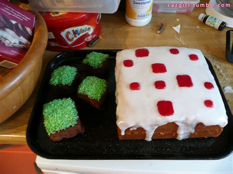 how to decorate a minecraft cake minecraft cake 183 how to decorate a computer cake