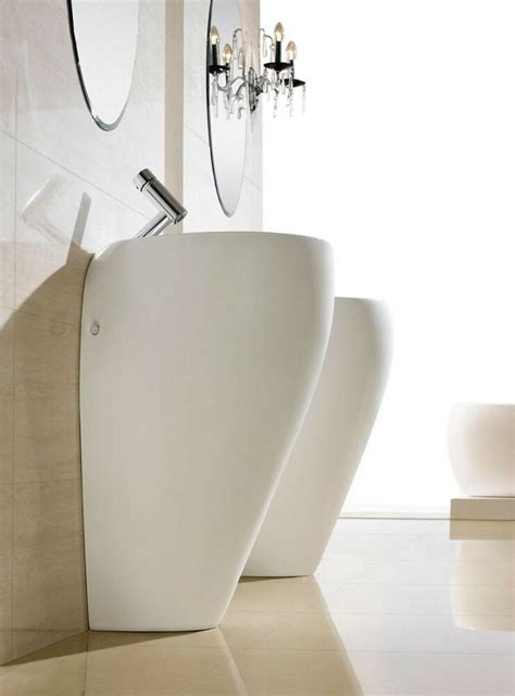 bathroom pedestal sink single pedestal sink modern