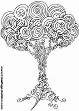 Tree Coloring Pages Adult Printable Quilling Patterns Paper Trees Night Adults Colouring Hearts Books Forest Paint Designs Pattern Leaves Dudamobile sketch template