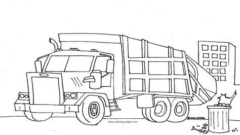garbage truck coloring page mcneilus garbage truck coloring pages coloring pages