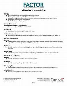 video treatment template besikeighty3co With video treatment template