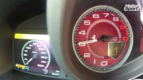 200 mph en kmh launch f12 berlinetta 0 200 km h motorsport