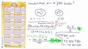 Lottozahlen Kombinationen Berechnen : wahrscheinlichkeit eurojackpot zu gewinnen youtube ~ Themetempest.com Abrechnung