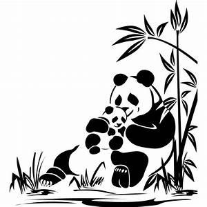 stickers panda pas cher papier decoupe animal exotique With déco chambre bébé pas cher avec envoi fleurs exotiques
