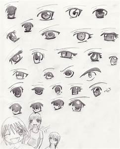 Anime eyes by celipink on DeviantArt